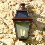 Wandlamp plat PV2 Place des Vosges PV3920 bruin Roger Pradier