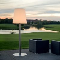 Terraslamp leuchte schemerlamp 250 cm LED