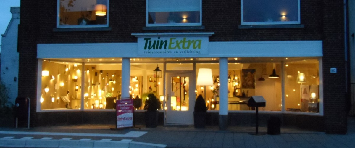 TuinExtra showroom buitenverlichting en brievenbussen Kaatsheuvel