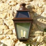 Roger Pradier Place des Vosges 3 wandlamp plat