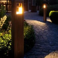 Royal Botania tuinverlichting teak Log LED