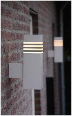 Wandlamp NJOJ LED warmwit licht 8 Watt buitenlamp