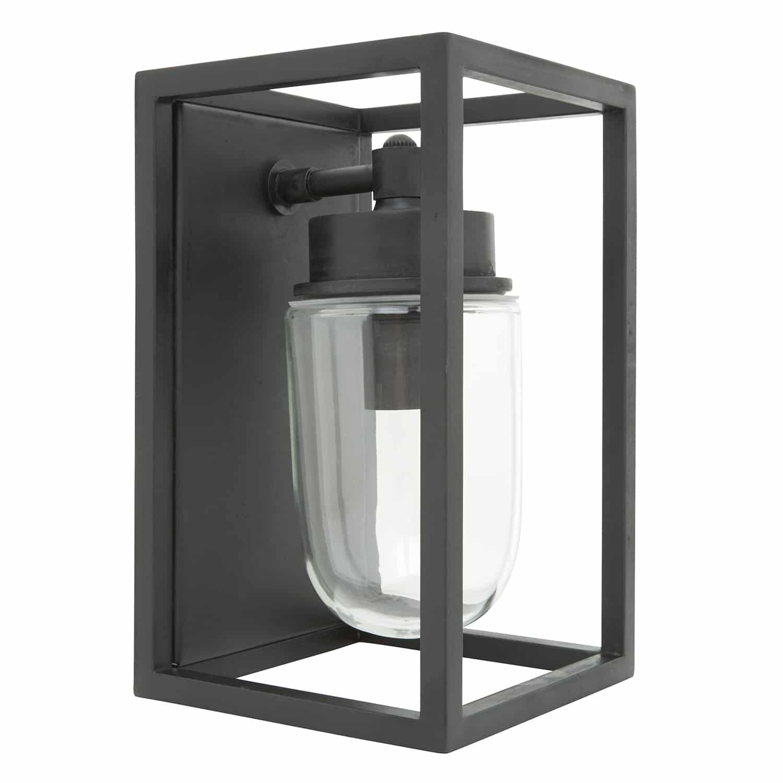 Buitenlamp Frits black finish TuinExtra vierkant zwart