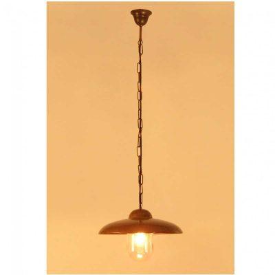 Tasni hanglamp Tierlantijn koper 091.1.000 plafondlamp verouderd koper in webshop en showroom bij TuinExtra