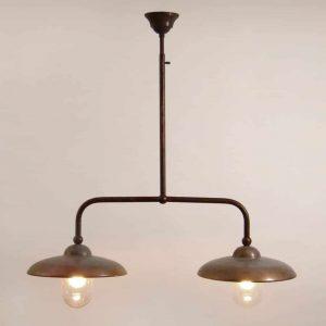 Figirola hanglamp Tierlantijn 105 koper plafondlamp verouderd koper in webshop en showroom bij TuinExtra