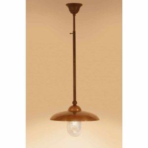 Miraso hanglamp Tierlantijn 120 koper plafondlamp verouderd koper in webshop en showroom bij TuinExtra