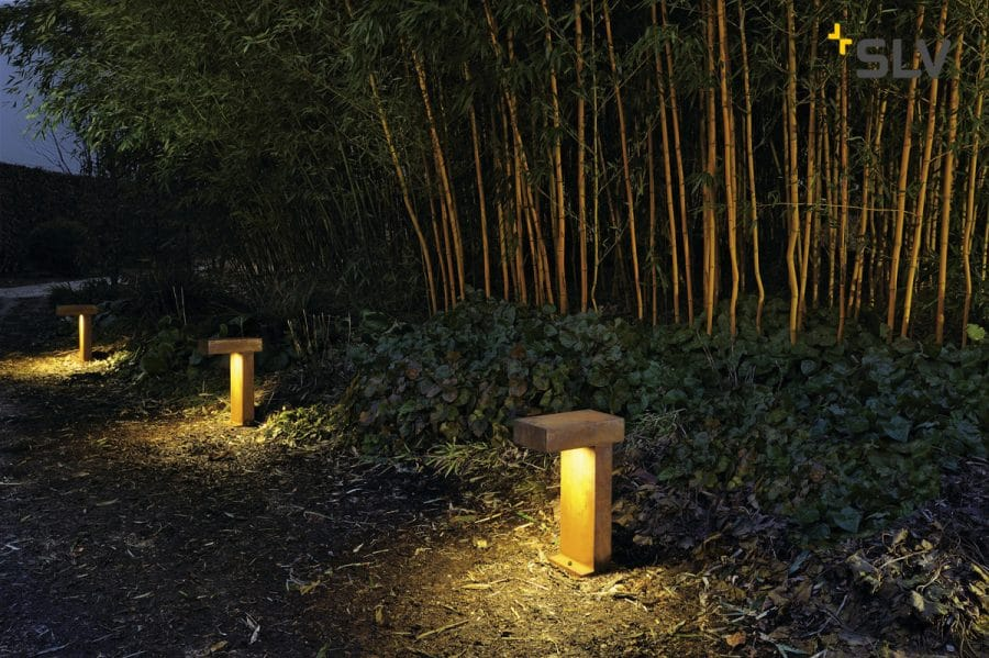 Rusty path 40 cm slv tuinextra padverlichting buitenlampen