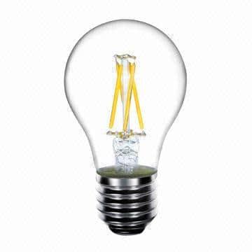 3 watt led filament E27 energiezuinige led lamp