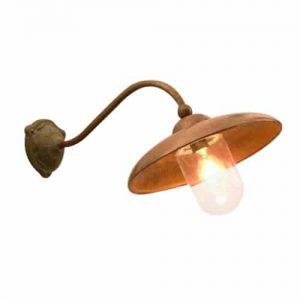 701 Lucce Tierlantijn landelijke koperen buitenlampen in webwinkel en showroom bij TuinExtra
