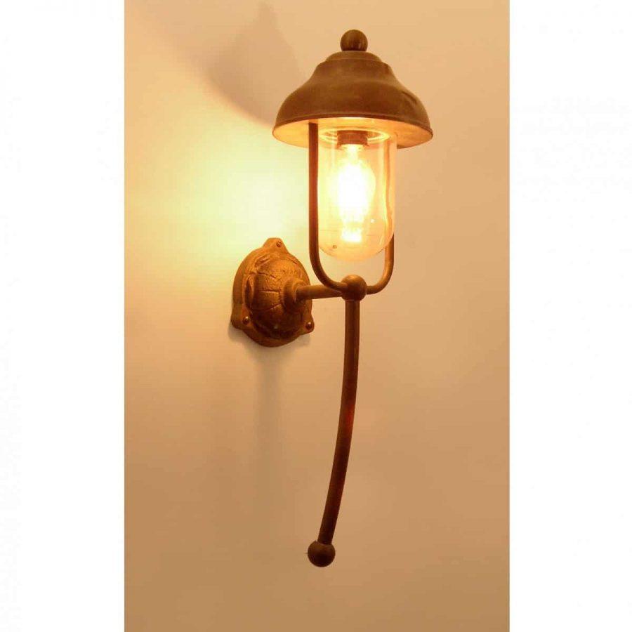 702 Bogera Tierlantijn landelijke koperen buitenlampen in webwinkel en showroom bij TuinExtra