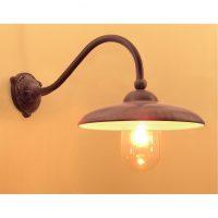 Lucce Tierlantijn buitenlamp wandlamp 710 lood finish in webwinkel en showroom bij TuinExtra