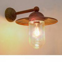 711 Ceretto Tierlantijn landelijke koperen buitenlampen in webwinkel en showroom bij TuinExtra