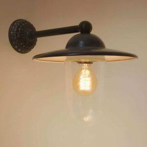 Ceretto Tierlantijn buitenlamp wandlamp 712 lood finish
