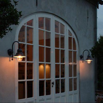715 Ceggia Tierlantijn landelijke koperen buitenlampen in webwinkel en showroom bij TuinExtra