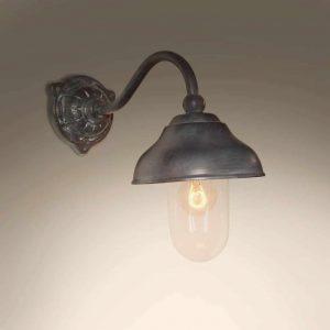 Cosali Tierlantijn buitenlamp 718 wandlamp lood finish in webwinkel en showroom bij TuinExtra