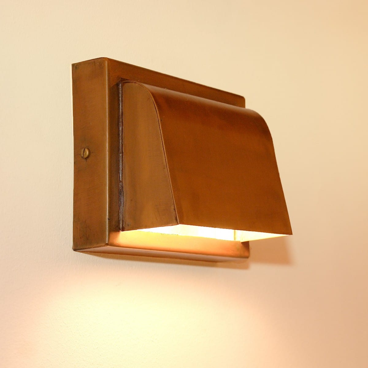 Tierlantijn verlichting 725 Pretori Landelijke koperen buitenlamp ...