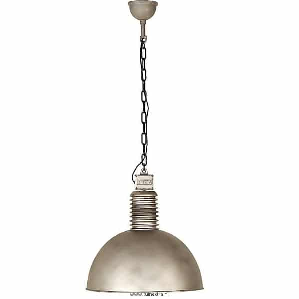 Lozz Frezoli plafondlamp 817 zink finish hanglamp industrieel in webwinkel en showroom bij TuinExtra