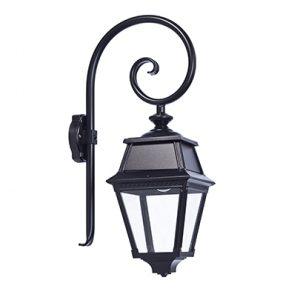 Roger pradier avenue 2 wandlamp buitenlamp met krul
