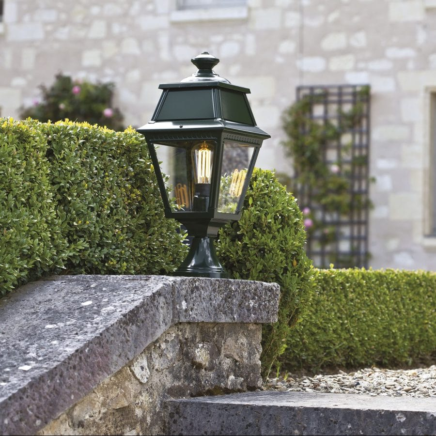 Avenue 2 roger pradier sokkellamp model 5 grachtengroen tuinextra buitenverlichting