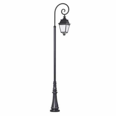 Avenue 3 lantaarnpaal met krul roger pradier buitenverlichting
