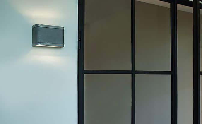 Barr Frezoli 822.1.800 buitenlamp zink finish