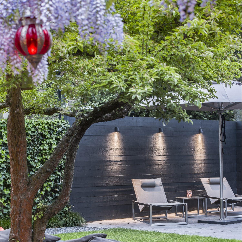 hoe leg ik tuinverlichting en buitenlampen goed aan. Black Bedroom Furniture Sets. Home Design Ideas