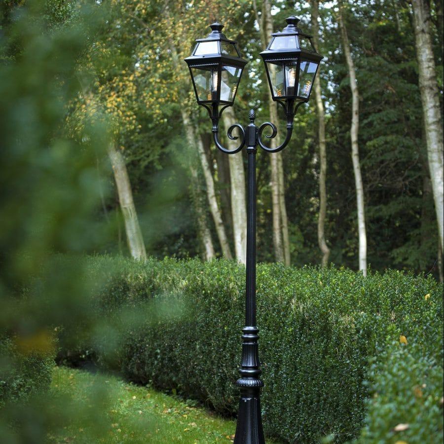 Buitenlamp lantaarn 2 kapper roger pradier place des vosges 3