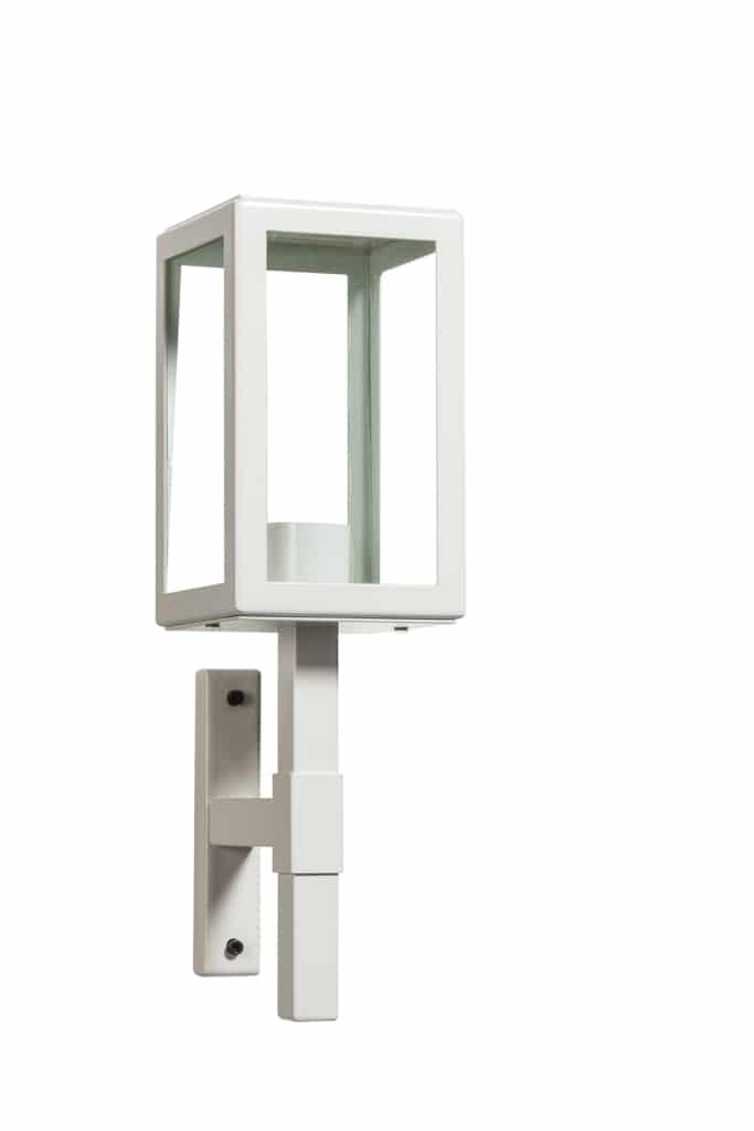 Buitenlamp Parijs 1900 cremewit vierkant TuinExtra buitenverlichting