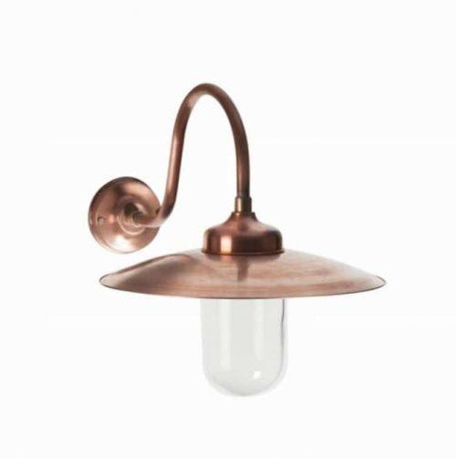 Buitenlamp koper Tuinextra Waalwijk in showroom en webshop