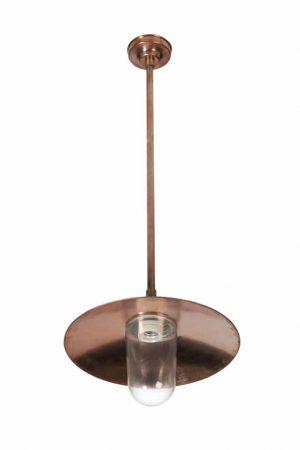 Plafondlamp Oosterhout TuinExtra koperen hanglamp