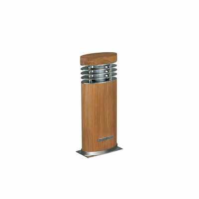 ellipse teak hardhout tuinverlichting royal botania