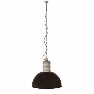 Lozz extra large Frezoli plafondlamp 819 black finish hanglamp industrieel in webwinkel en showroom bij TuinExtra