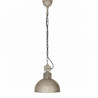 Raz 815.1.800 industriele plafondlamp hanglamp Frezoli met zink finish bij TuinExtra in webshop en showroom.