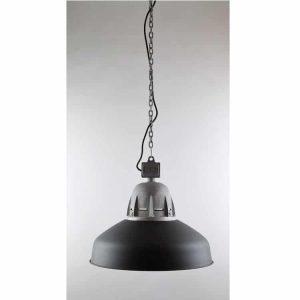 Torr Frezoli hanglamp black finish zwarte plafondlamp aan ketting