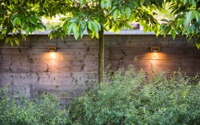 log wall teak led wandverlichting royal botania
