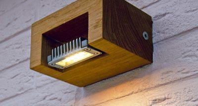 logg wall teak wandlamp hardhout buitenverlichting royal botania