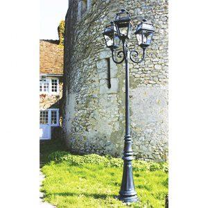 Roger Pradier Place des Vosges 2 buitenlamp lantaarn met 3 kappen PV2-11: online bij TuinExtra