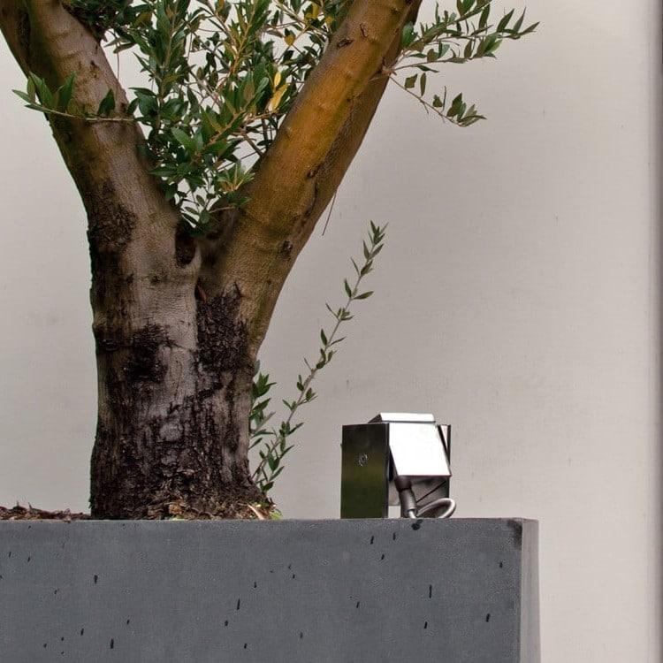 Q-bic buitenlamp spot royal botania rvs roestvrijstaal