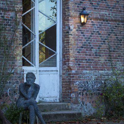Victoria roger pradier buitenlamp wandlamp zwart tuinextra