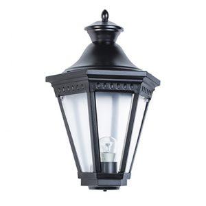 Victoria roger pradier buitenlamp wandlamp plat zwart tuinextra