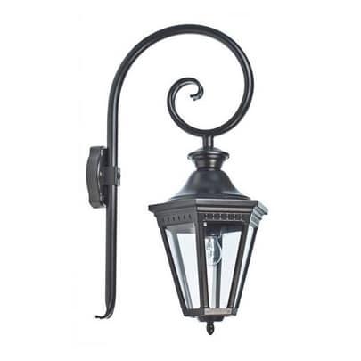 Wandlamp krul Victoria Roger Pradier VI1903 zwart buitenlamp tuinextra