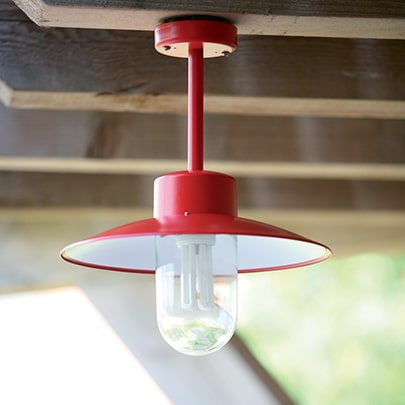 Plafondlamp Belcour Roger Pradier buitenverlichting stallampen