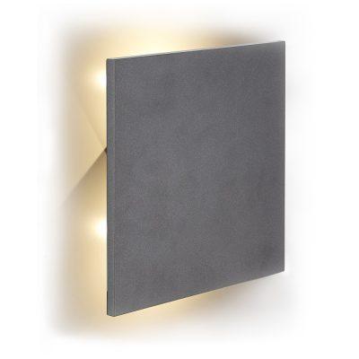 Square wandlamp led antraciet vierkant TuinExtra