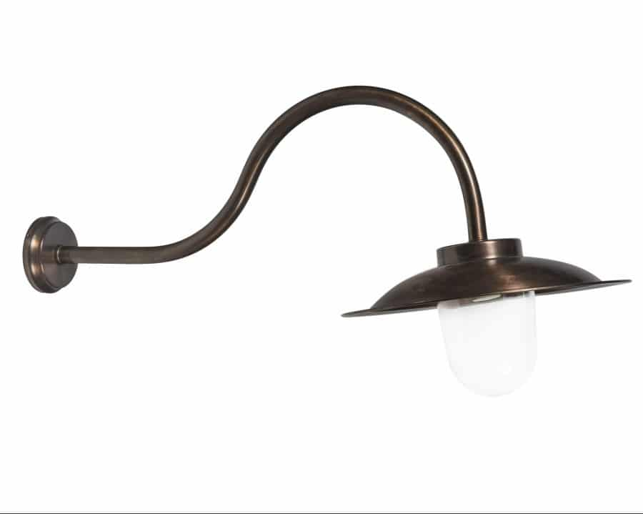 Koperen stallamp groot Oisterwijk TuinExtra