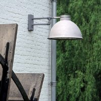 Zarr Frezoli buitenlamp zink finish TuinExtra buitenverlichting
