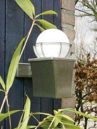 Buitenlamp Milano RVS: exclusieve roestvrijstalen buitenverlichting