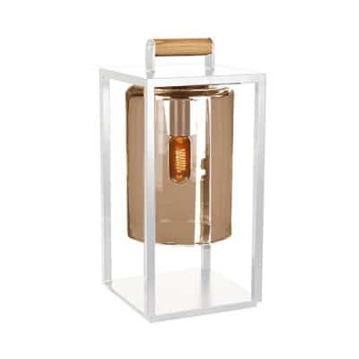 Royal Botania Dome small wit amber glass