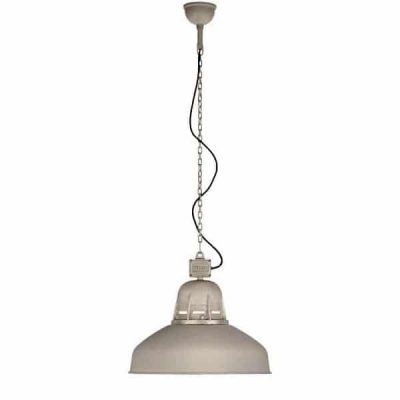 Torr 829 Frezoli hanglamp zink finish industriele plafondlamp aan ketting