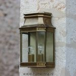 Buitenlamp Roger Pradier Louis Philippe 2 messing