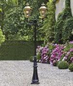 Roger Pradier Louis XIII buitenlamp L13-7: online bij TuinExtra
